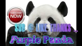 Purple Panda EDM Music, Electronic Dance, Techno 3D Video