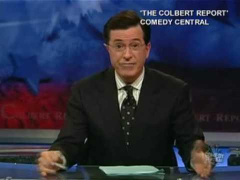Sarah Palin Jon Stewart Late Show CBS The Colbert Report