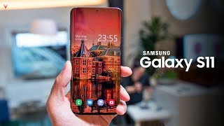 Samsung Galaxy S11 - LEAK Shows Tiny Bezels
