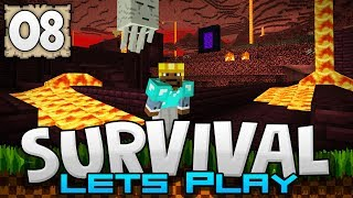 CONQUERING THE NETHER!!! - Survival Let