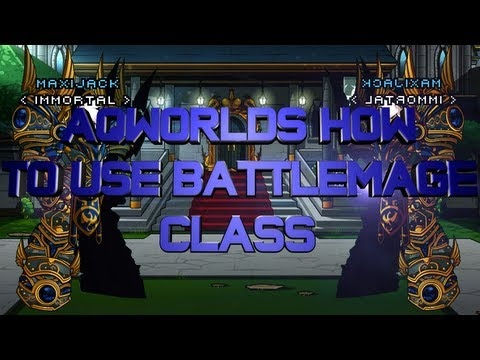 AQWorlds How To Use BattleMage Class