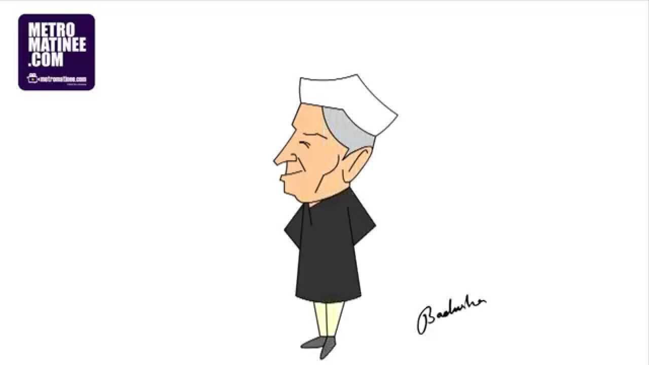 Pandit Jawaharlal Nehru Drawing Jawaharlal Nehru Easy