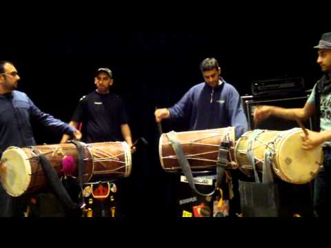 Dhol Jt Saund - Late Night Practice! video