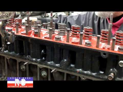 Valve Spring Removal w Head on Engine
