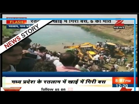 Six died after bus met with accident in Ratlam
