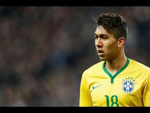 Brasil vs Honduras 1-0  Gol de Roberto Firmino - Amistoso Internacional 11/06/15