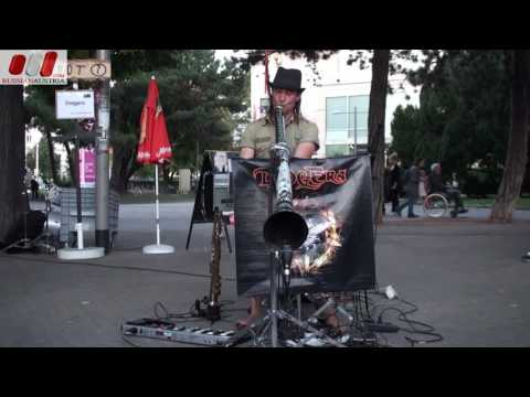 DidgEra (Australia). Dave Johnson. Vienna Street Performers by RussianAustria (Full HD)