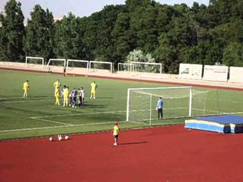 Oliveira do Douro 0 - FC Pedras Rubras 2 (primeiro golo, Jo�o Jesus)