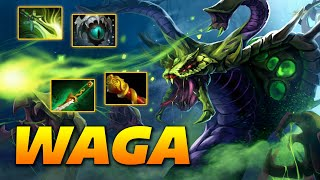 Wagamama Venomancer - Dota 2 Pro Gameplay [Watch & Learn]