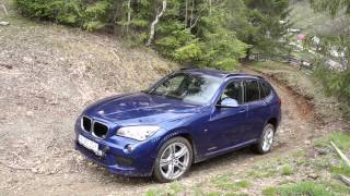 BMW X1 test / review + off-road (English subtitles)