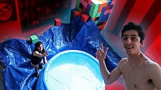 INDOOR SWIMMING POOL!! (MOM FREAKS OUT)