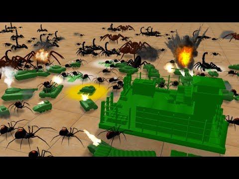 SPIDER NATION ATTACKS!!! - Home Wars | Ep2