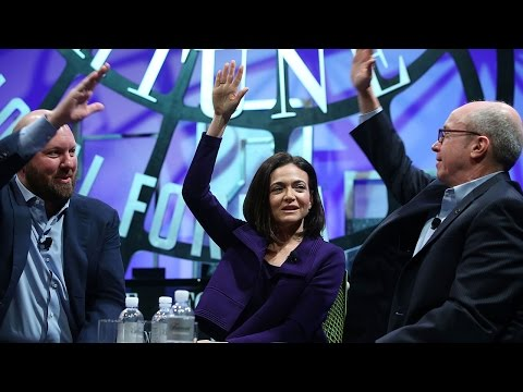Sheryl Sandberg and Marc Andreessen on the Future of Mobile, Income Inequality, and Tech Trends