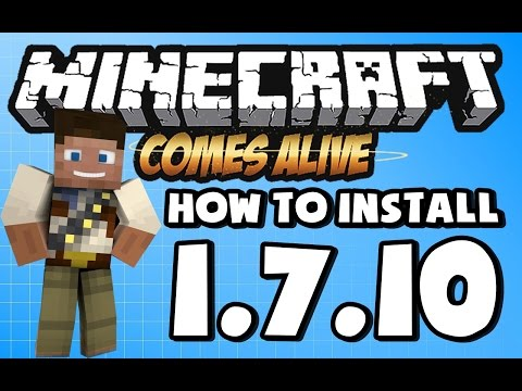 ★ How To Install MINECRAFT COMES ALIVE mod for Minecraft 1.6.4 /1.6.2