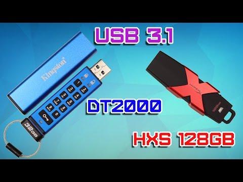 HyperX Savage USB 3.1, Kingston DataTraveler 2000 Обзор. Флэшка Дэдпула и флэшка Джеймс Бонда