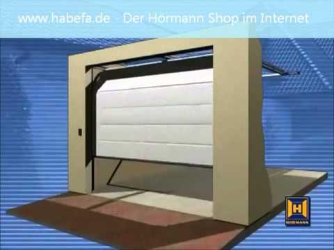 h rmann notentriegelung net f r garagentore in garagen ohne zweiten zugang youtube. Black Bedroom Furniture Sets. Home Design Ideas