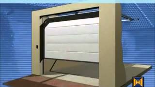 h rmann notentriegelung net f r garagentore in garagen ohne zweiten zugang. Black Bedroom Furniture Sets. Home Design Ideas