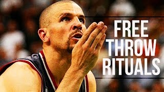 Top 10 NBA Players Free Throw Rituals