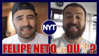 Arthur(Mamaefalei) DEFENDE Felipe Neto e sofre DURAS CRÍTICAS do Nando Moura