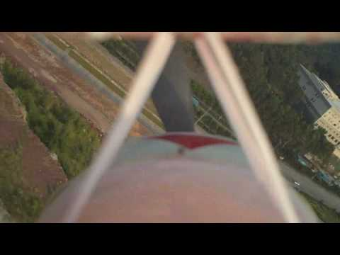Pitts S2A HD Aerial Footage Front Cockpit View
