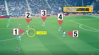Lionel Messi Vs Whole Team of Espanyol - UNSTOPPABLE