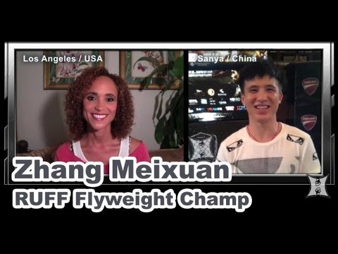 RUFF Flyweight Champ Zhang Meixuan on Emergence of Chinese MMA