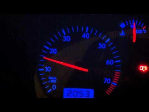 VW GOLF 1.6 SR 2003 ENGINE PROBLEM AT IDLE POWER