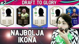 TRI IKONE U NAJVEĆEM DRAFTU DO SADA! FIFA 19 Draft To Glory #3