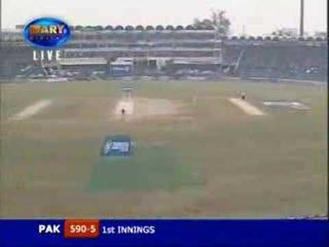 Afridi 4 sixes on 4 balls of Harbhajan Singh