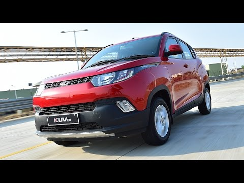 Mahindra KUV100 - First Drive Review