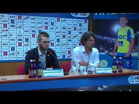 Tisková konference domácího trenéra po utkání Teplice - Hradec Králové (24.10.2017)