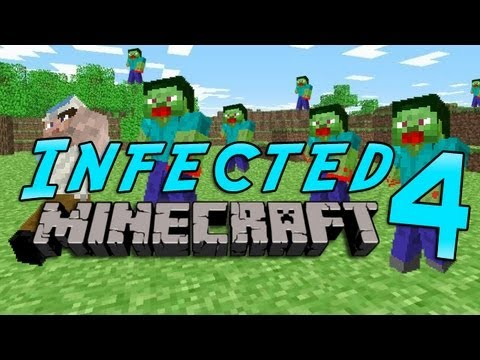 Minecraft: Infected w/Mitch Game 4 - SKELETRON!