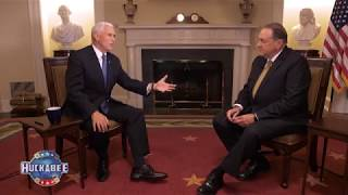 EXCLUSIVE: Vice President Mike Pence Discusses Israel, The Economy & Our Military   Huckabee