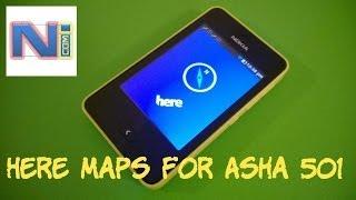 Here Maps for Nokia Asha 501