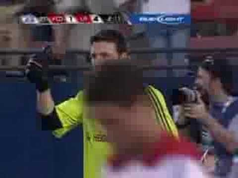 SuperLiga 2007 night 5 FC Dallas vs. LA Galaxy 5-6 Video
