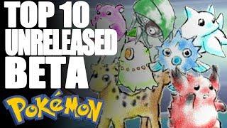 Top 10 Beta Unreleased Pokémon - Tamashii Hiroka