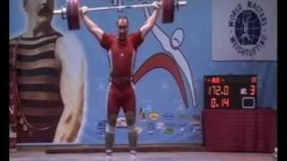 World Masters Weightlifting Champioships 2010 (M1/+105)