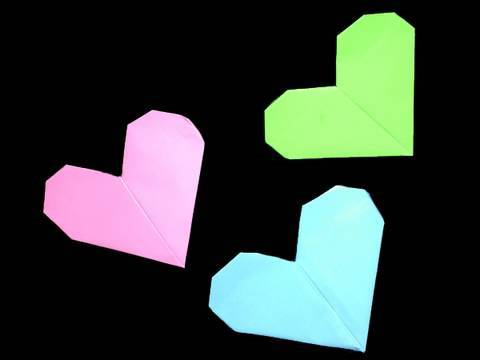 Manualidades de papel y origami: C�mo hacer un coraz�n de pa