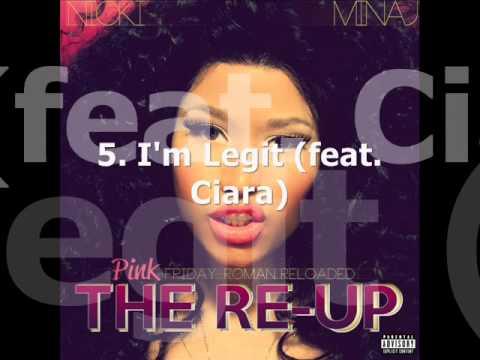 Pink Friday: Roman Reloaded The Re-Up FULL Album Preview - Nicki Minaj