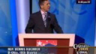 Rep. Dennis Kucinich (D-OH) Speaks to the DNC