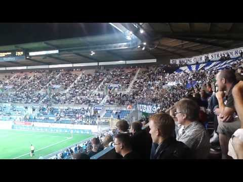Ambiance au chez les UB90 et au KCB pendant le match contre Vannes OC le 07 septembre 2013, avec le second but du Racing de Anthony Sichi !