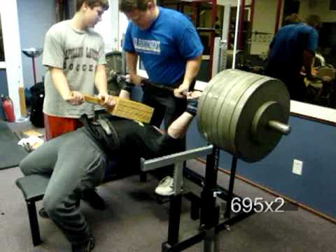 Tim Anderson Powerlifting Bench Workout Image 1