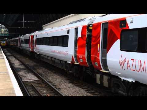 Hitachi Class 800101 departing London King's Cross working 5X80