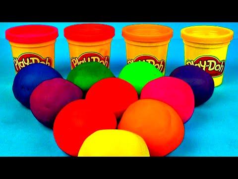 Play-Doh Surprise Eggs Lalaloopsy Peppa Pig Cars 2 Disney Frozen Hello Kitty Spongebob Toy FluffyJet