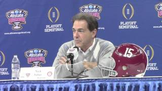 Nick Saban tells a story about Urban Meyer