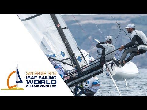 2014 ISAF Worlds - 49er, 49erFX, Finn and Nacra 17 Medal Races