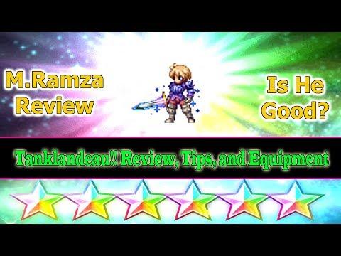 Final Fantasy Brave Exvius 6 stars Mercenary Ramza Review: Tanklandeau(#183)