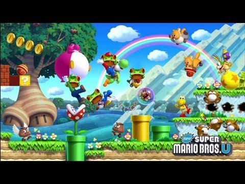 New Super Mario Bros. U    Rezension (Test / Review)   LowRez HD   deutsch
