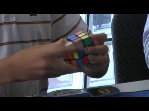 Rubiks Cube Average of 5 (former) world record 9.21 seconds Feliks Zemdegs.
