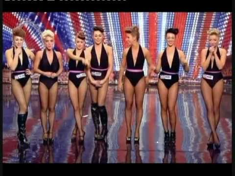 BRITAIN S GOT TALENT 2011 - GIRLS ROC (AN ATTRACTIVE DANCE ACT WITH A DIFFERENCE!)